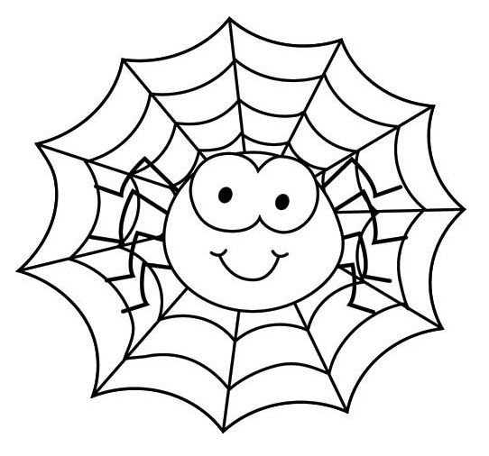 Cute Spiderman Coloring Pages