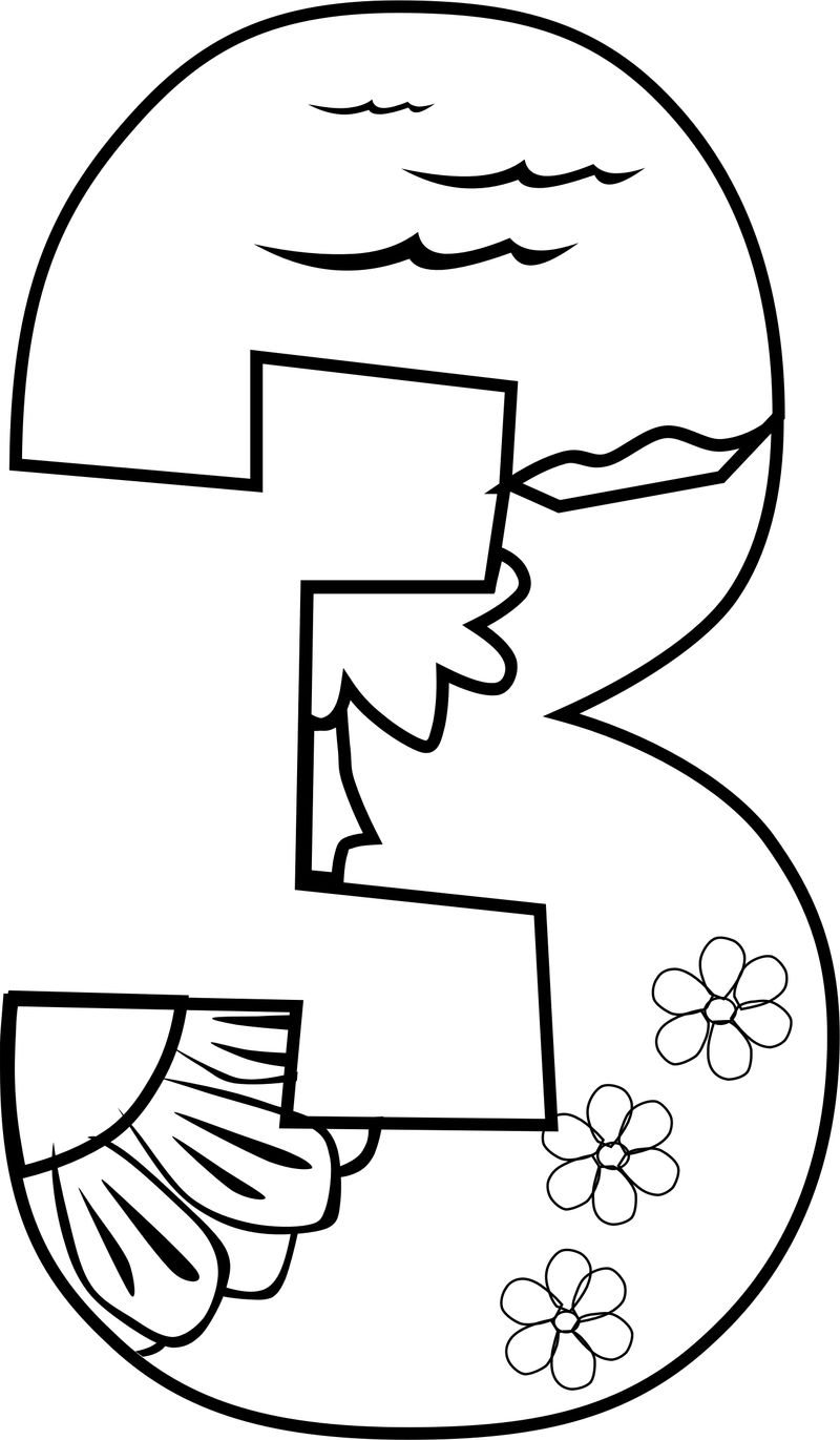 Day 3 Creation Coloring Pages
