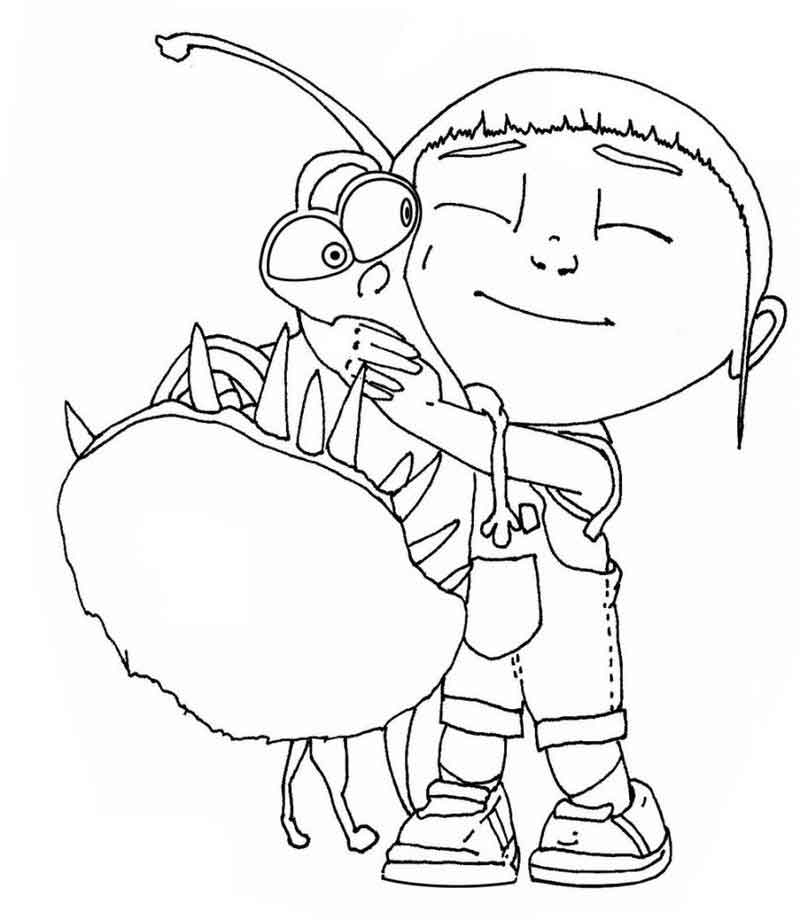 Despicable Me Coloring Page