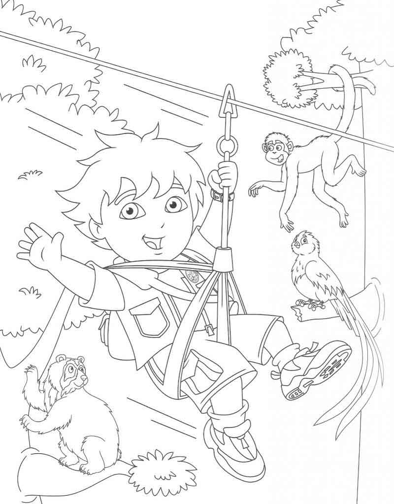 Diego Coloring Pages Photos