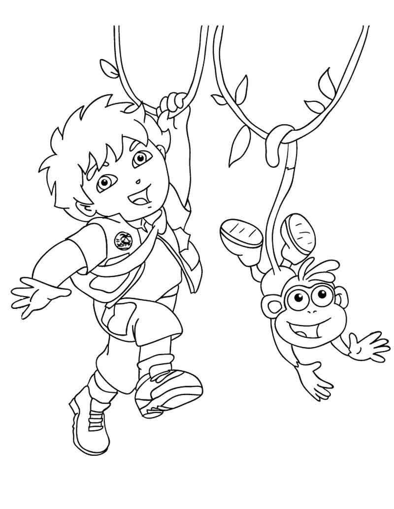 Diego Coloring Pages To Print