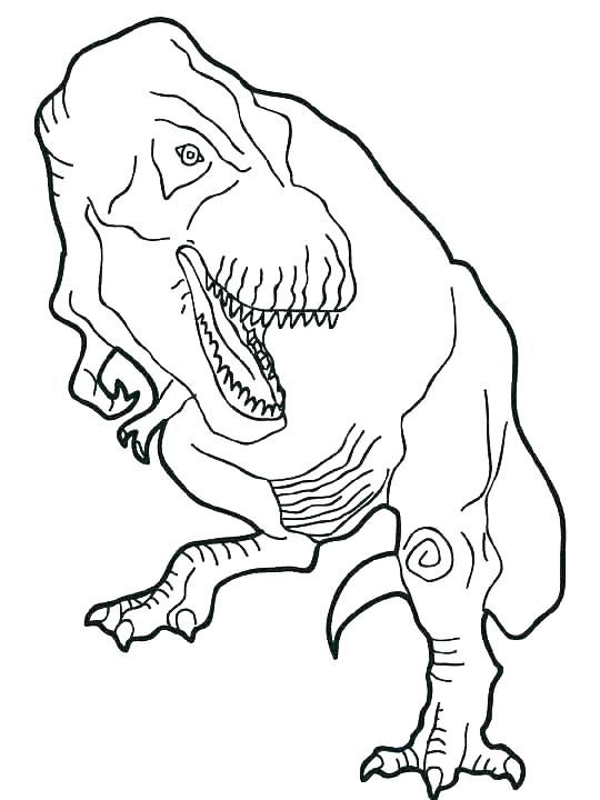 Dinosaur Jurassic World Coloring Pages