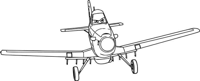 Disney Dusty Planes Ready Coloring Pages