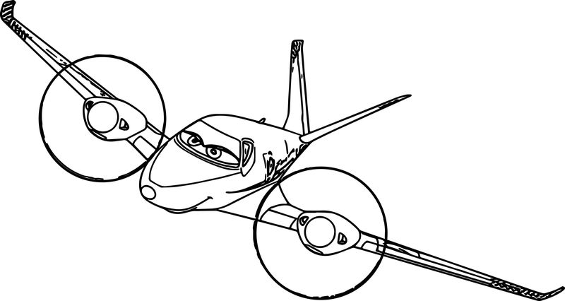 Disney Rochelle Planes Coloring Pages