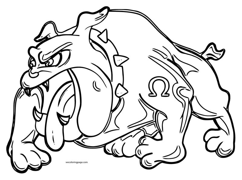 Dog Coloring Pages 004