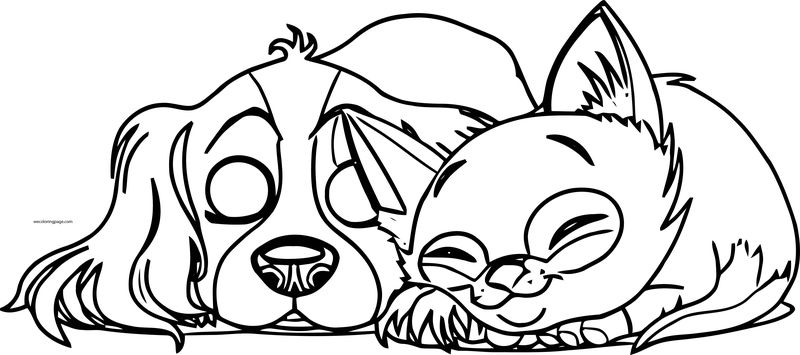 Dog Coloring Pages 009