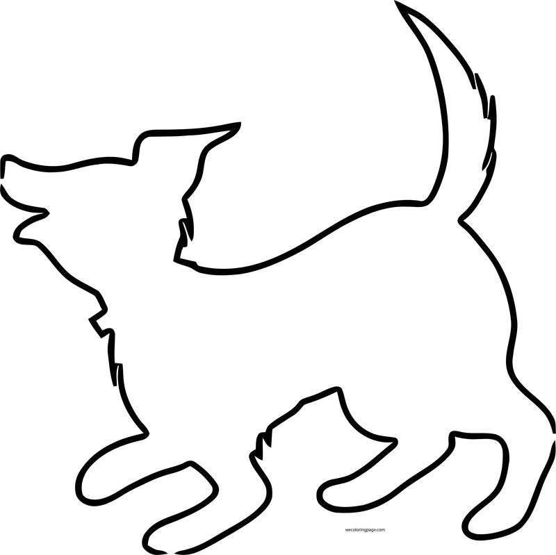 Dog Coloring Pages 012