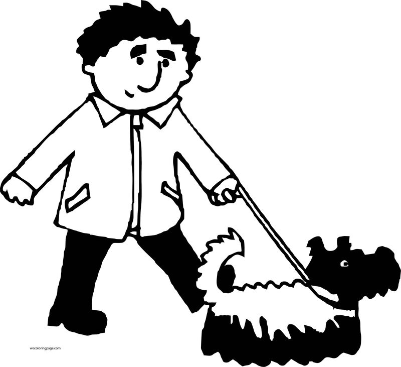 Dog Coloring Pages 015
