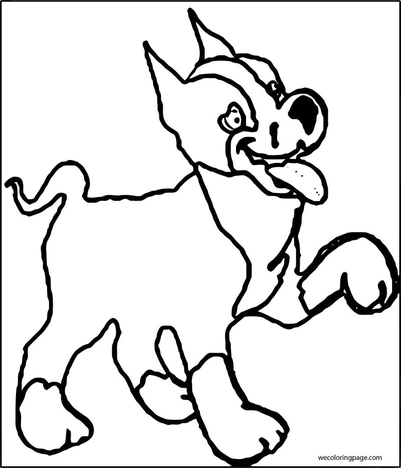 Dog coloring pages 024