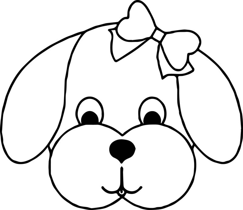 Dog Coloring Pages 035