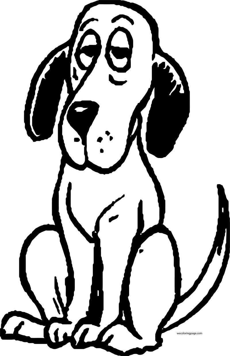 Dog Coloring Pages 037