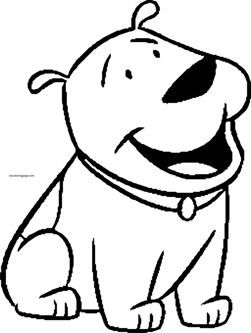 Dog coloring pages 052