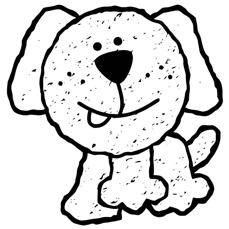 Dog Coloring Pages 056