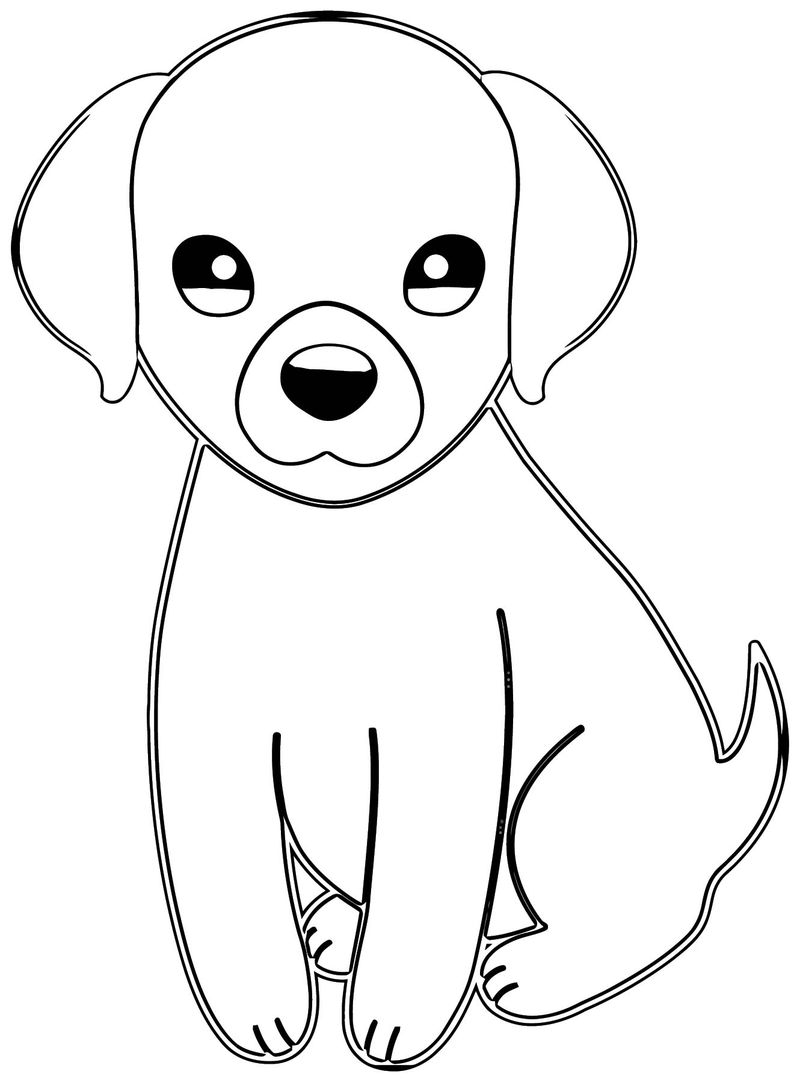 Dog Coloring Pages 060