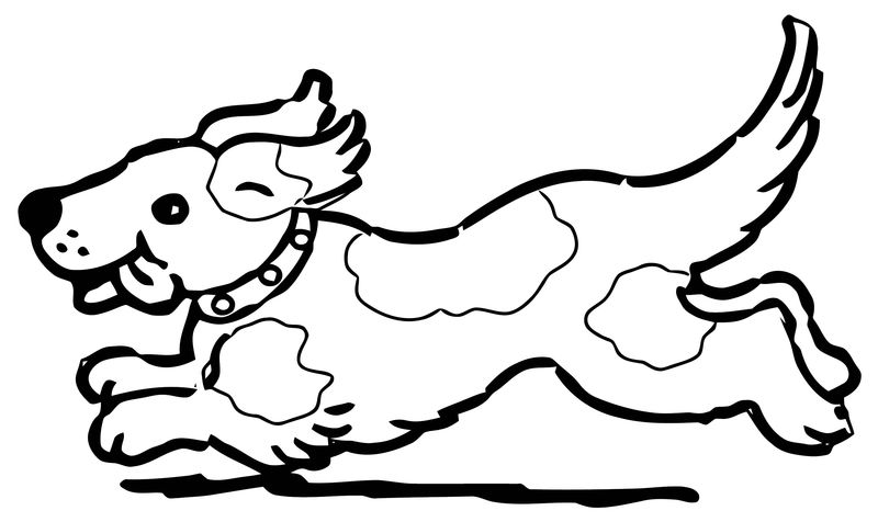 Dog Coloring Pages 065