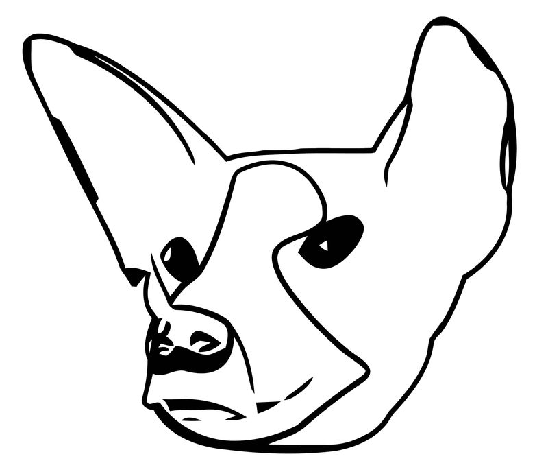 Dog Coloring Pages 071