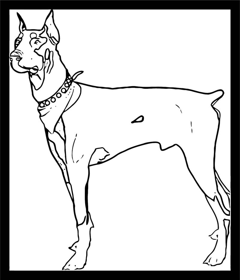 Dog Coloring Pages 100