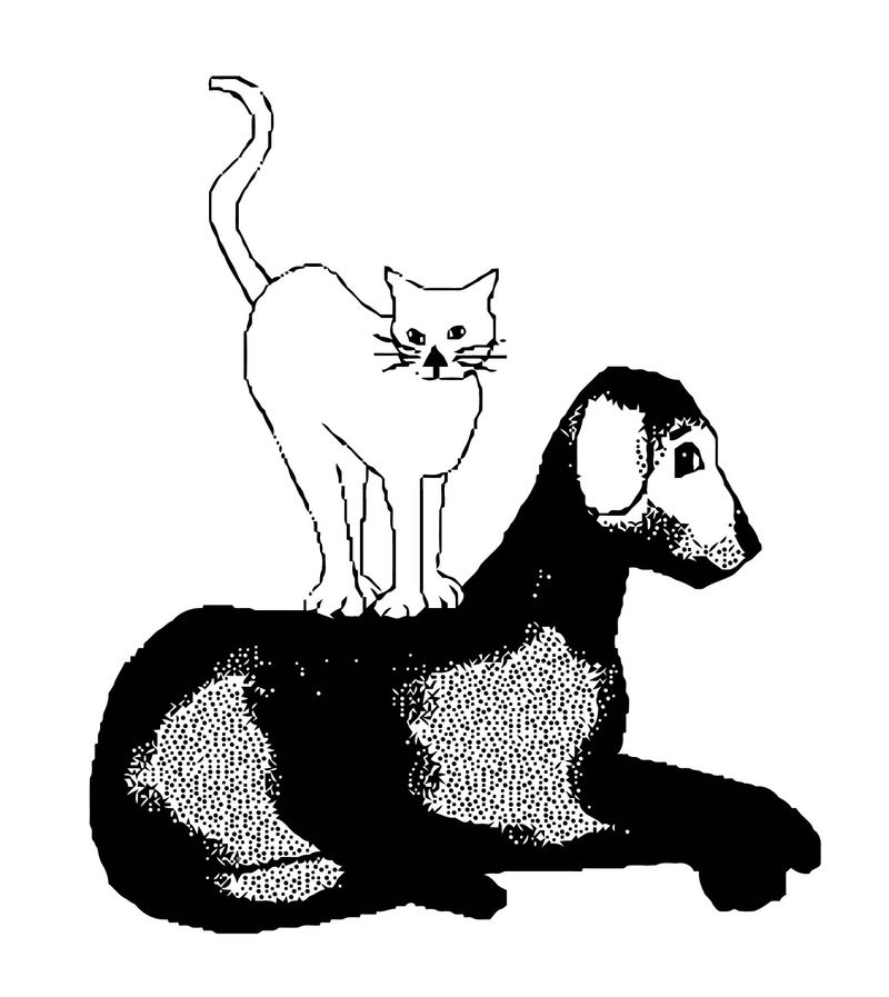Dog Coloring Pages 111