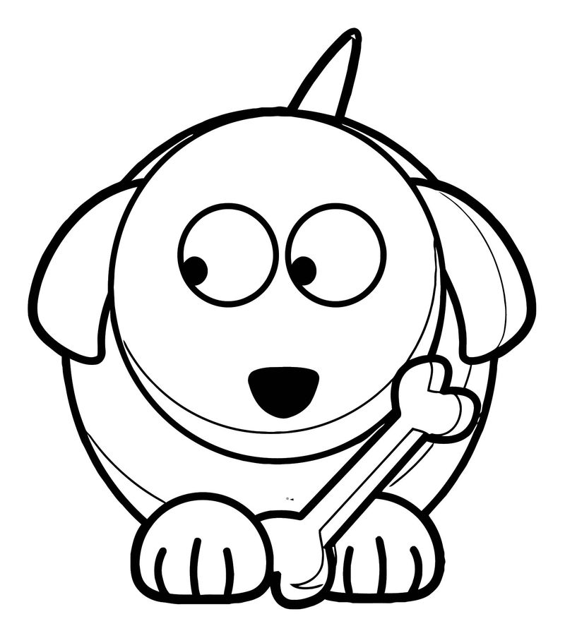 Dog Coloring Pages 116