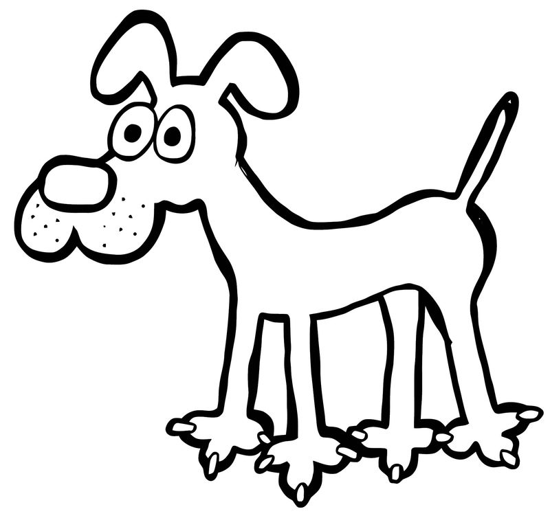 Dog Coloring Pages 117