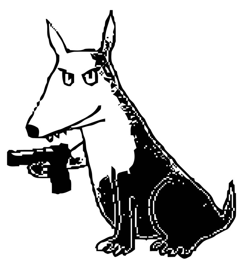 Dog Coloring Pages 124