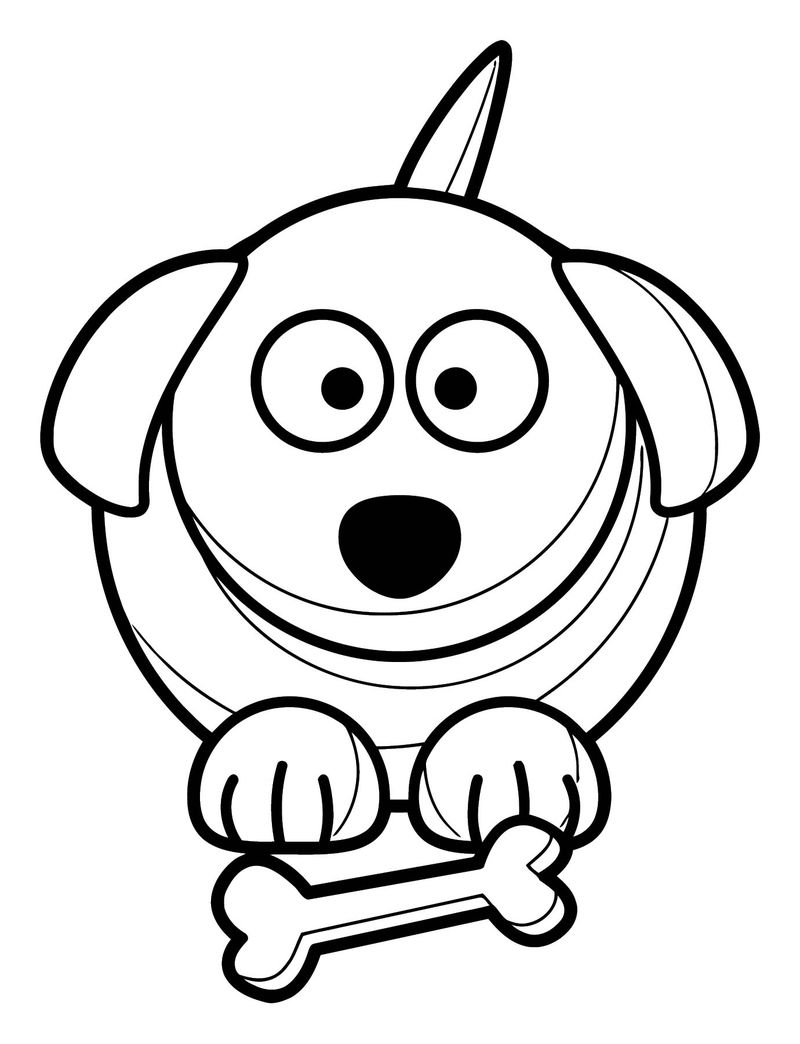 Dog Coloring Pages 140