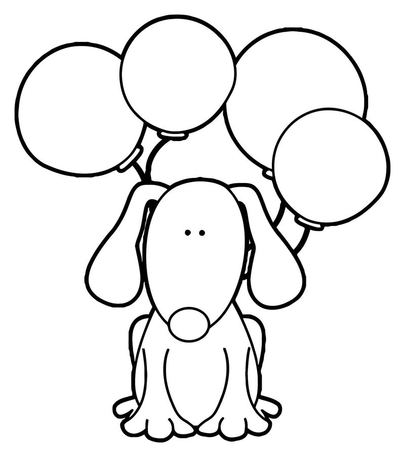 Dog coloring pages 141