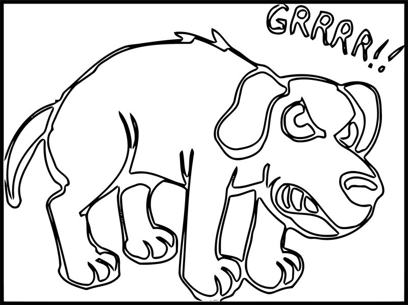 Dog Coloring Pages 151