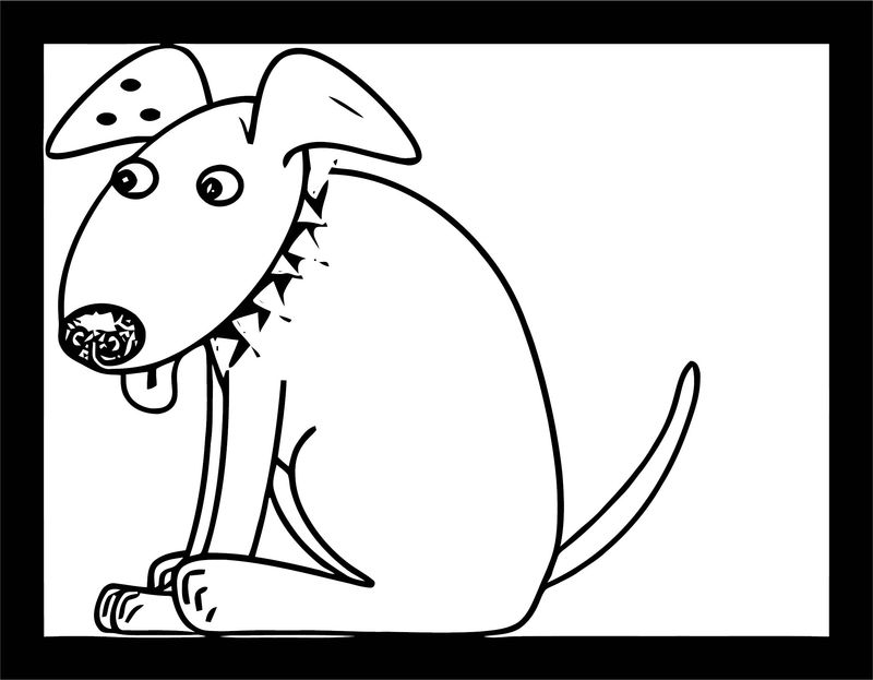 Dog Coloring Pages 152