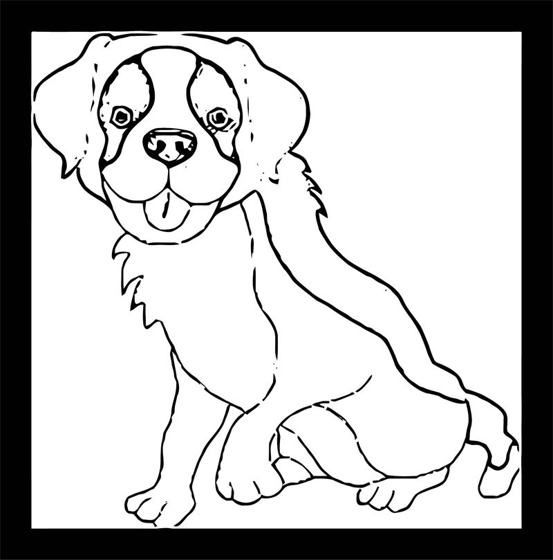 Dog Coloring Pages 161