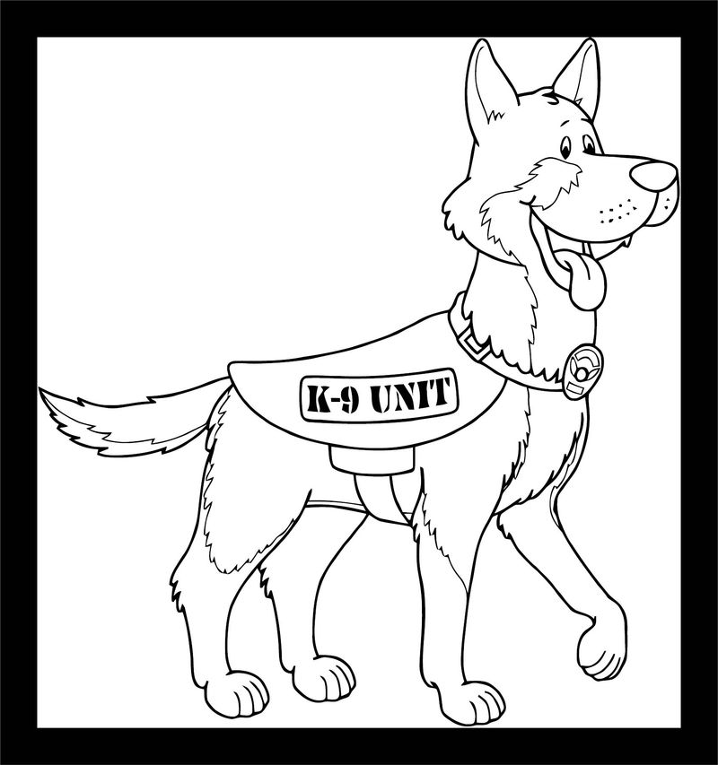 Dog Coloring Pages 183