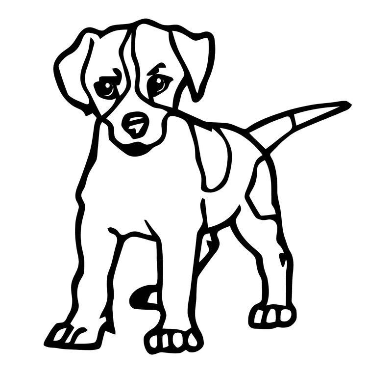 Dog Coloring Pages 185