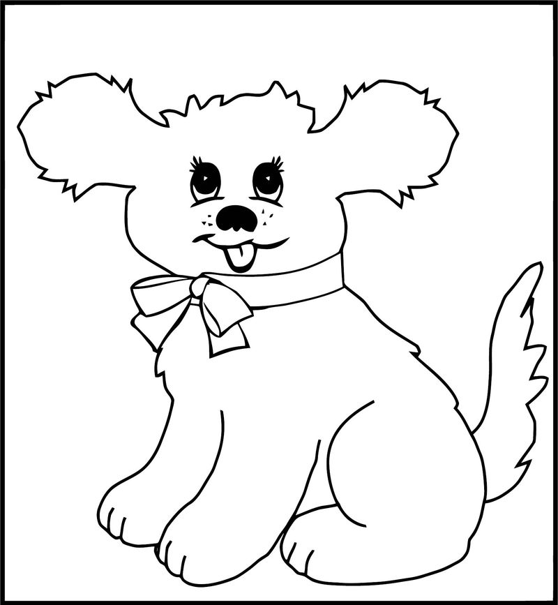 Dog Coloring Pages 186