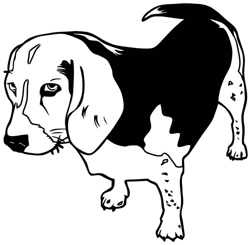 Dog coloring pages 189