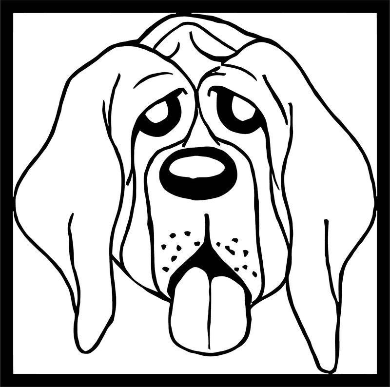 Dog Coloring Pages 192