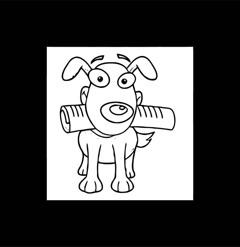 Dog Coloring Pages 195