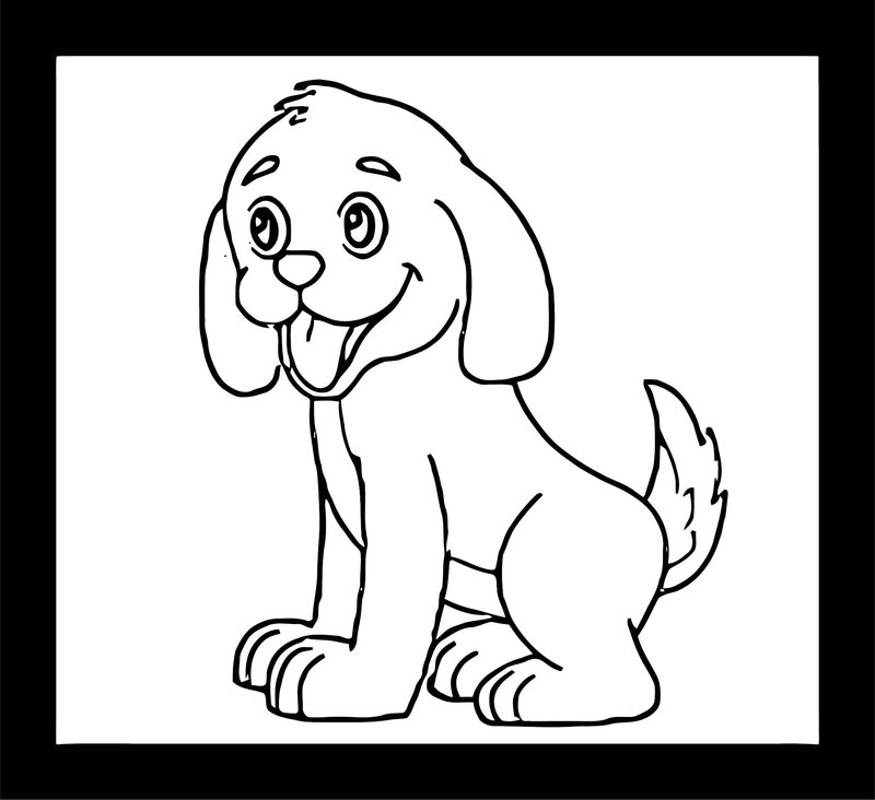 Dog Coloring Pages 197