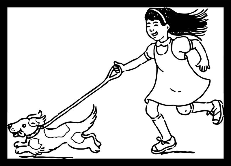 Dog Coloring Pages 201