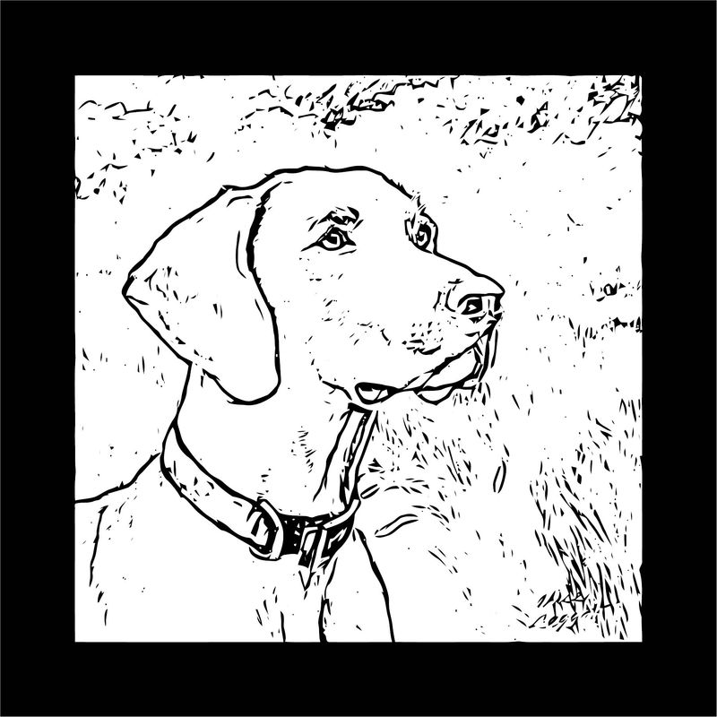 Dog Coloring Pages 202