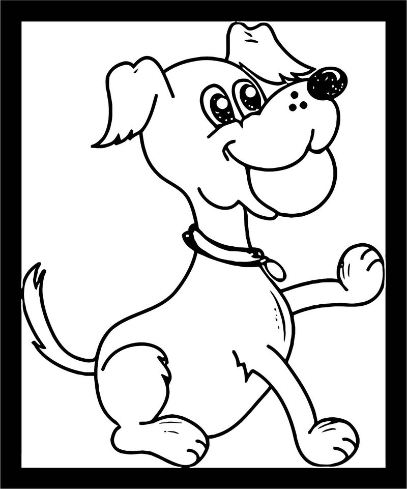 Dog Coloring Pages 204