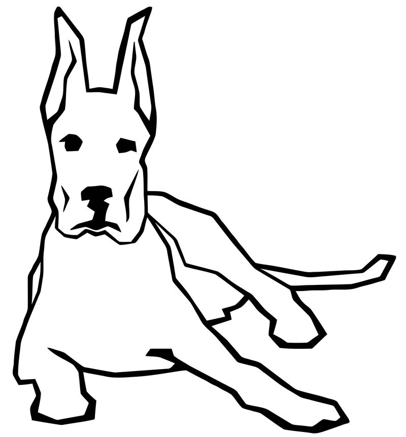 Dog Coloring Pages 205