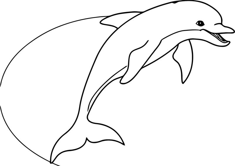 Dolphin Coloring Page 067