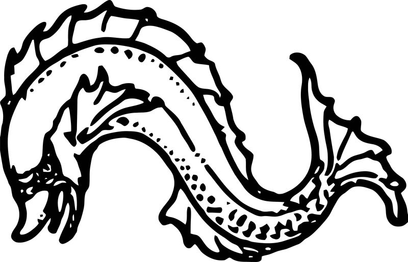 Dolphin Coloring Page 096