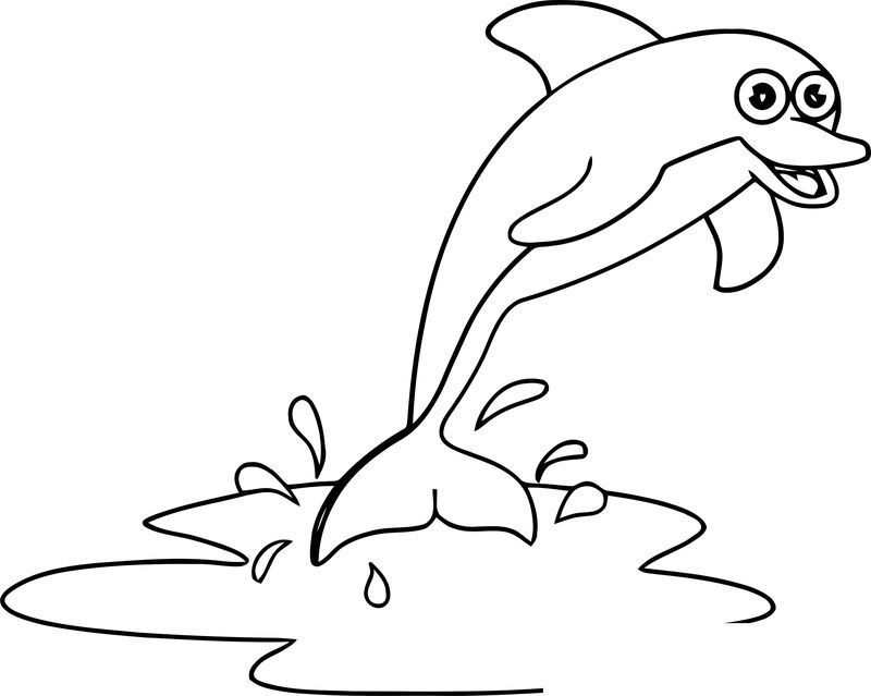 Dolphin Coloring Page 139