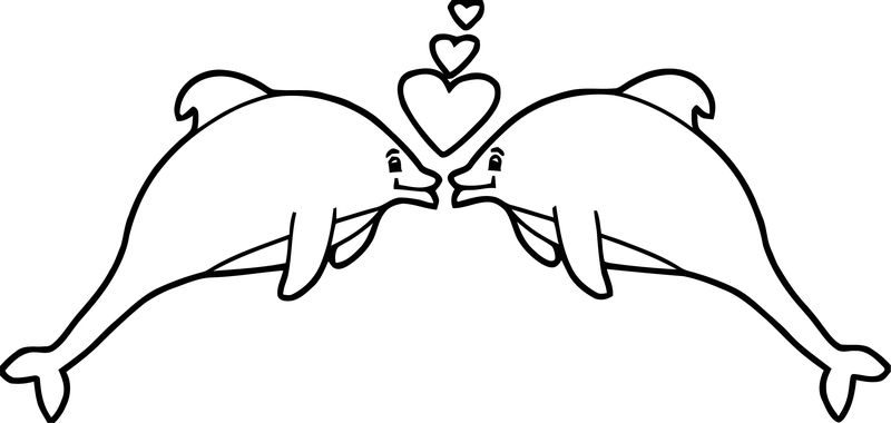 Dolphin Coloring Page 192