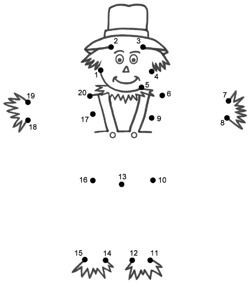 Dot To Dot Worksheet Kindergarten