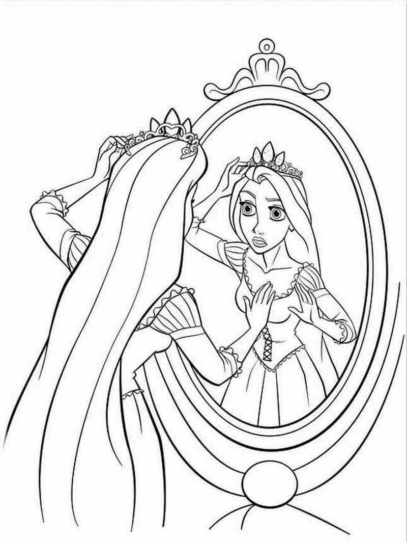 Download Free Rapunzel Coloring Pages To Print
