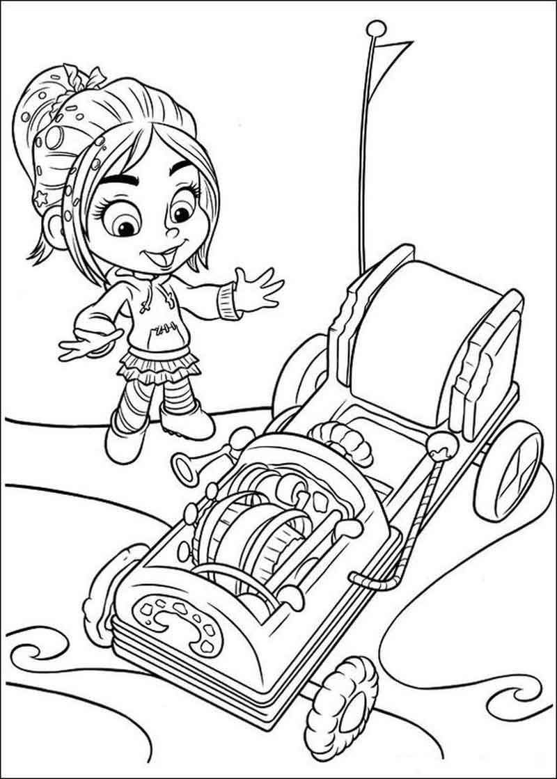 Download Free Wreck It Ralph Coloring Pages