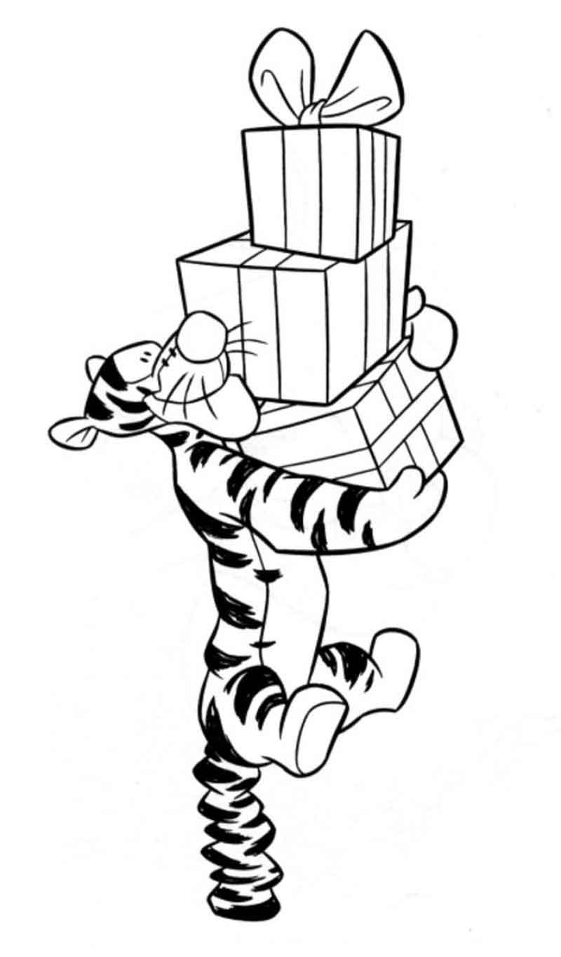 Download Printable Tigger Coloring Pages