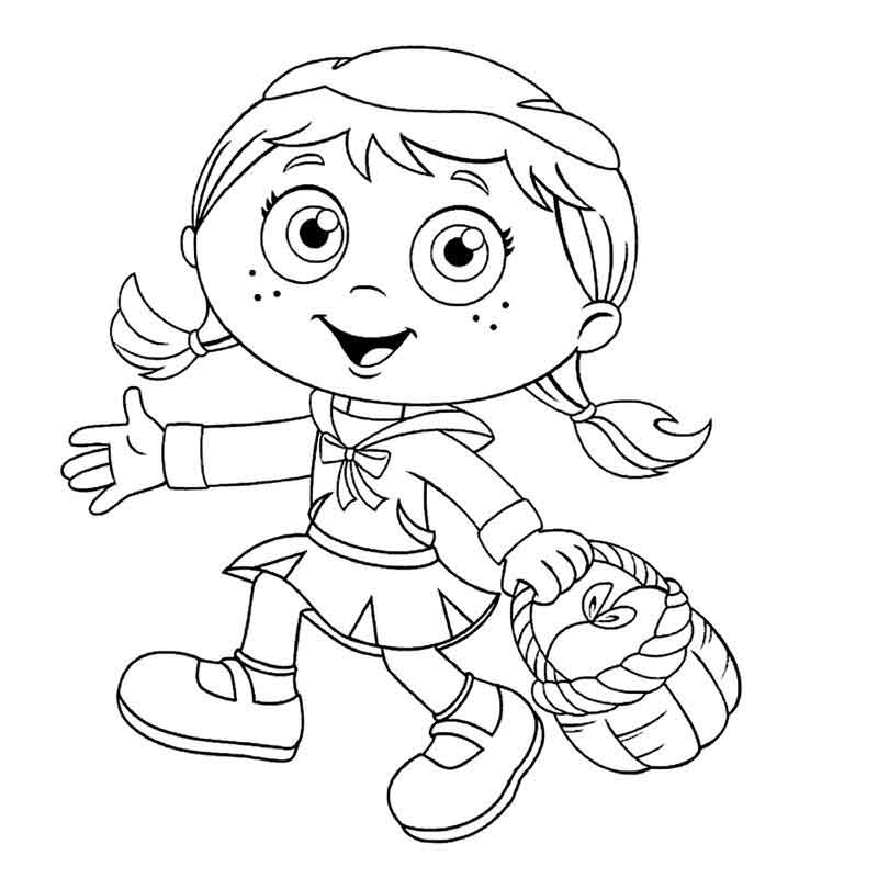 Download Super Why Coloring Pages